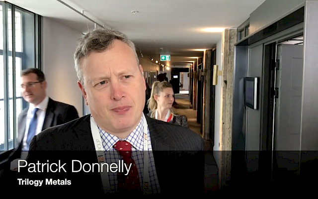 Interview: Patrick Donnelly, Trilogy Metals - 121 Mining Investment London 2019